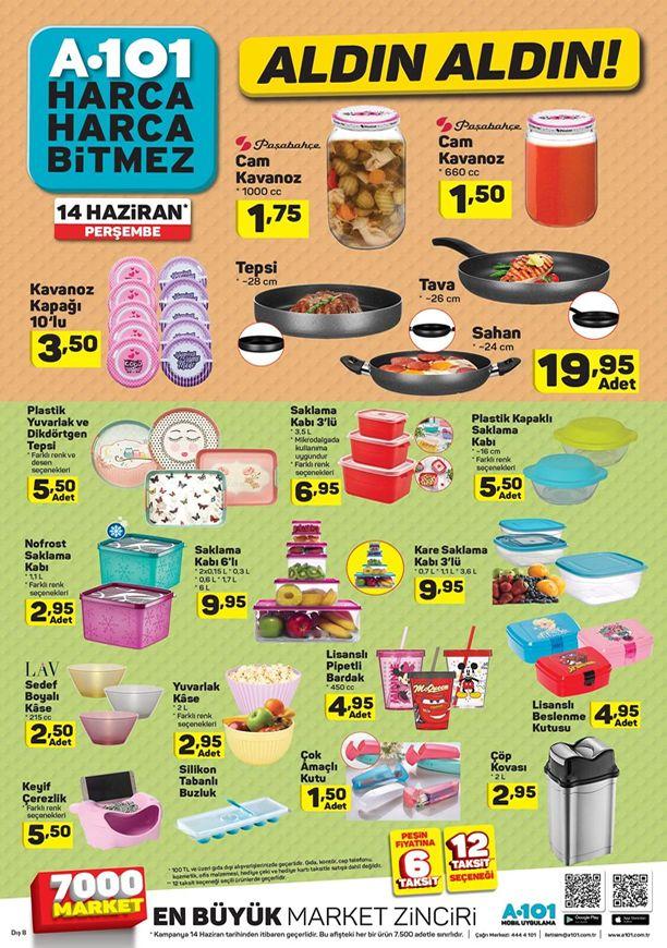 14 Haziran A101 Aktüel Ürünler - Paşabahçe Cam Kavanoz