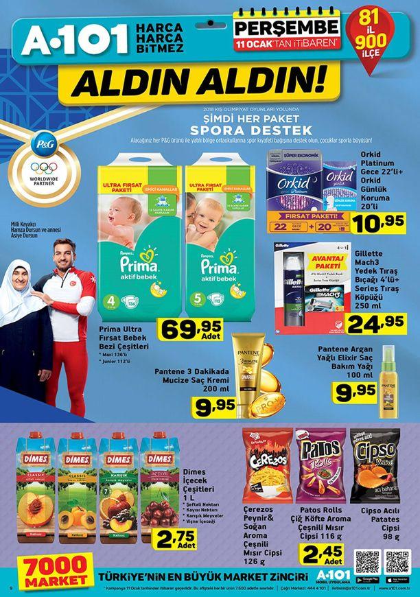 A101 11 Ocak 2018 Fırsat Ürünleri Kampanyası