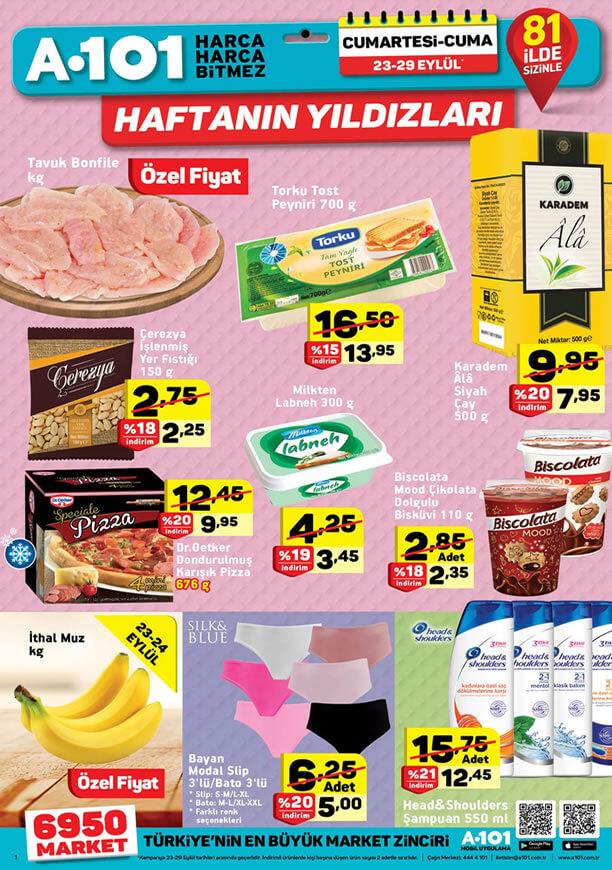 A101 23 Eylül Haftanın Yıldızları - Torku Tost Peyniri