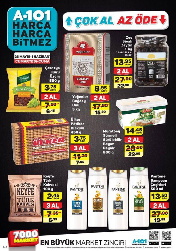 A101 26 Mayıs Çok Al Az Öde Kampanyası - Zeo Siyah Zeytin