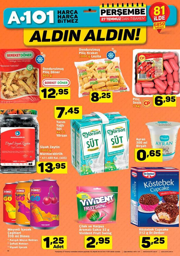 A101 27 Temmuz - Marmarabirlik Siyah Zeytin