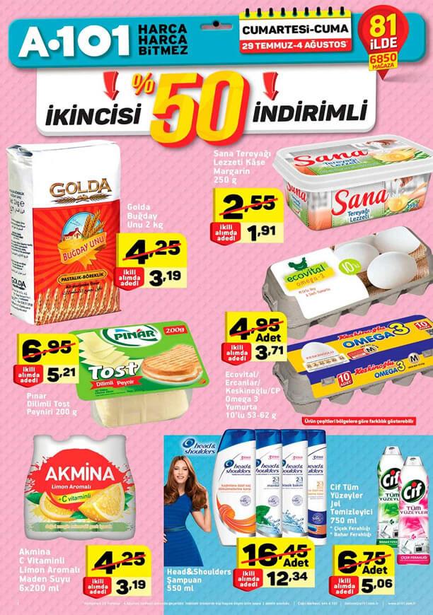A101 29 Temmuz - Pınar Dilimli Tost Peyniri