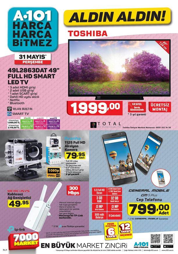 A101 31 Mayıs 2018 Katalogu - General Mobile GM5 Plus Cep Telefonu