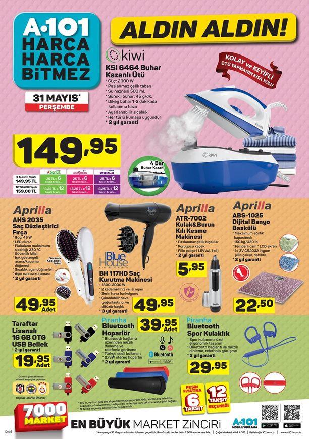 A101 31 Mayıs - 6 Haziran Katalogu - Piranha Bluetooth Hoparlör