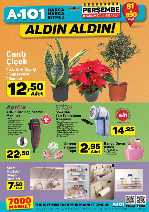 A101 4 Kasım 2017 Aktüel Ürünler Kataloğu