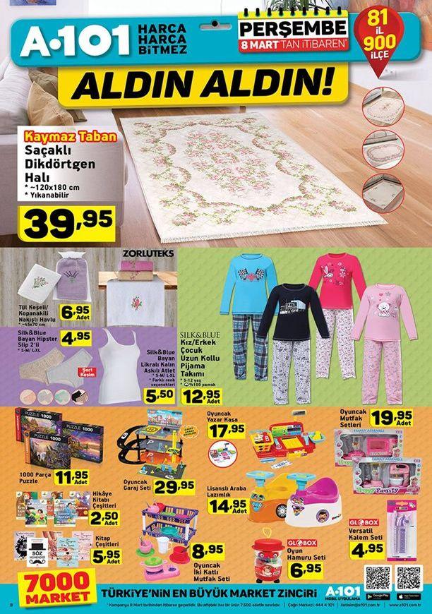 A101 8 - 14 Mart 2018 Aktüel Katalogu - Oyuncak Garaj Seti