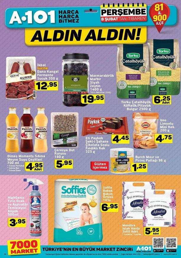 A101 8 - 14 Şubat 2018 Fırsat Ürünleri Kataloğu