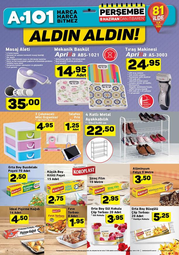 A101 8 Haziran 2017 Katalogu - Koroplast