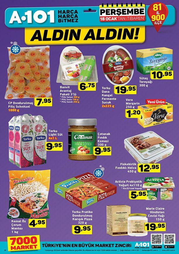 A101 8 Şubat 2018 Aktüel Ürünler Kataloğu - Torku Sucuk