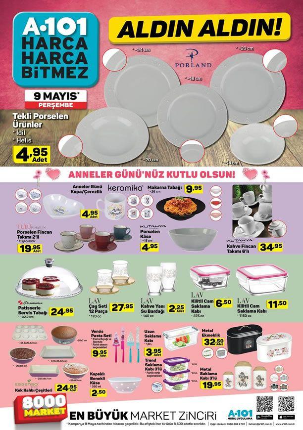 A101 9 Mayıs 2019 Kataloğu - Anneler Günü Özel Ürünleri