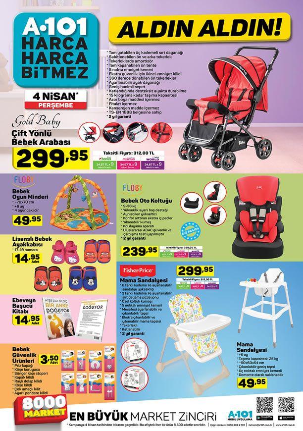 A101 Market 4 Nisan 2019 Kataloğu - FLOBY Bebek Oto Koltuğu