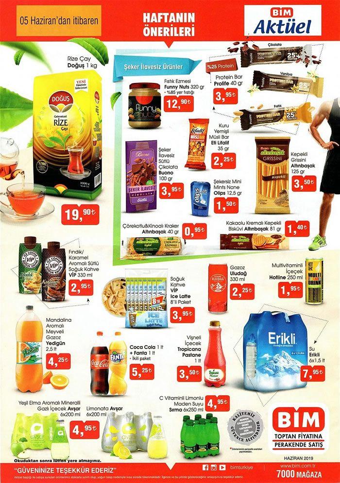 BİM Market 5 Haziran 2019 Kataloğu - Doğuş Rize Çay