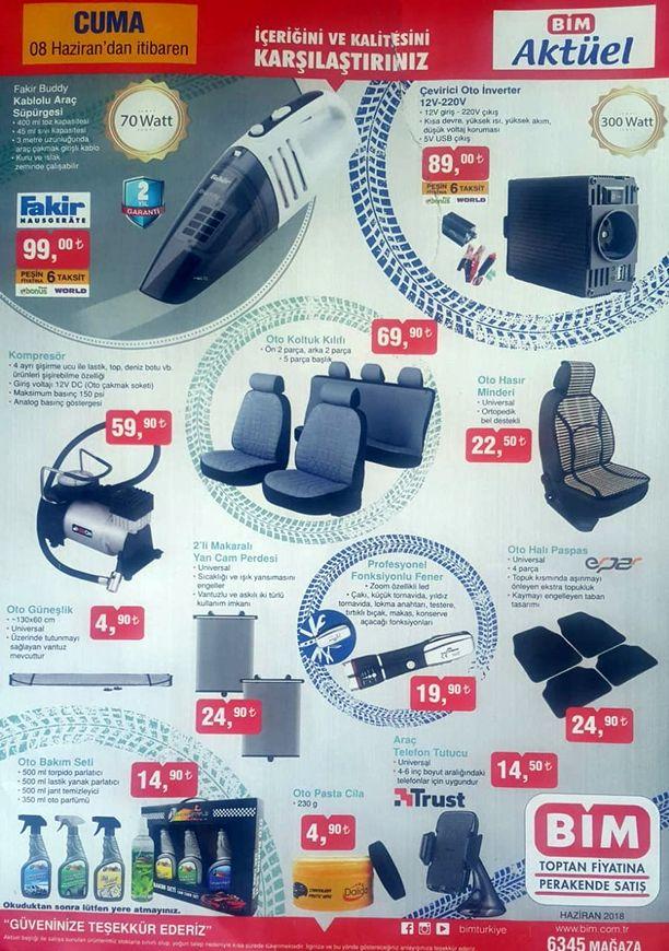 BİM Market 8 Haziran Katalogu - Fakir Buddy Kablolu Araç Süpürgesi