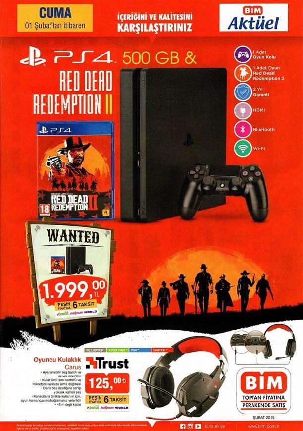 BİM Market PS4 500 GB - BİM 1 Şubat 2019 Play Station 4