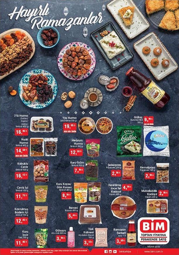 BİM Ramazan Fırsatları 2019