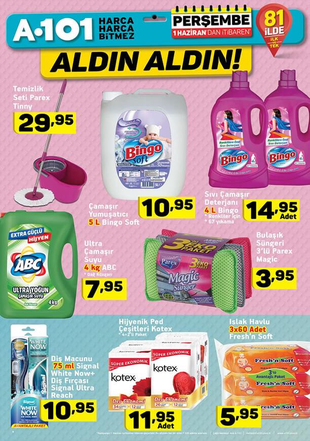 A101 1 Haziran 2017 Kampanyası - Parex Temizlik Seti