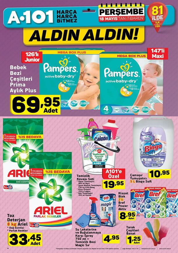 A101 18 Mayıs 2017 Katalogu - Kovalı Temizlik Seti