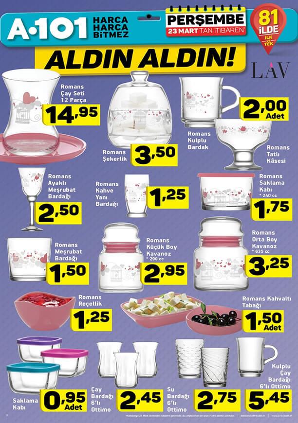 A101 23 Mart 2017 Fırsat Ürünleri Katalogu - LAV Ottimio