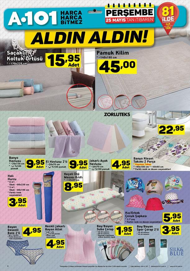 A101 25 Mayıs 2017 Katalogu - Saçaklı Koltuk Örtüsü