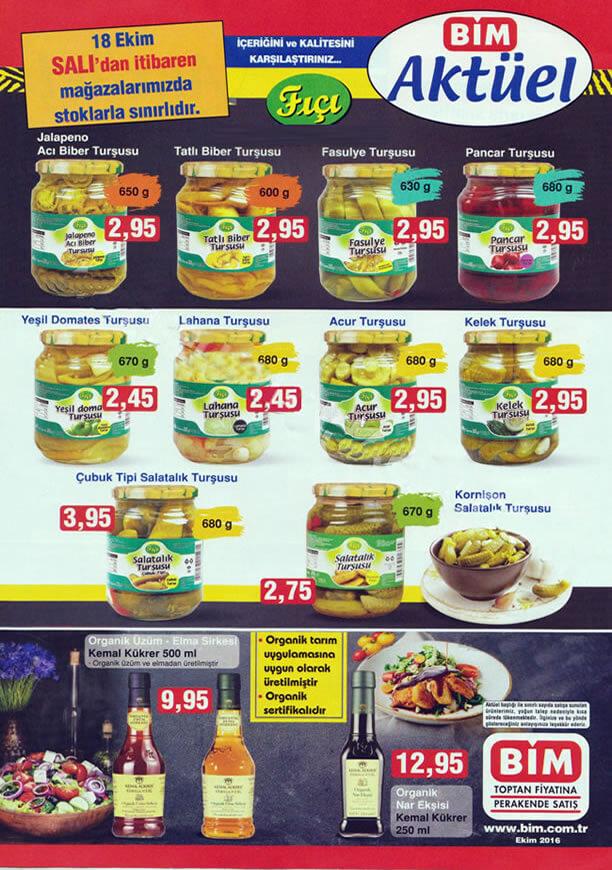 BİM 18 Ekim 2016 Aktüel Ürünler Katalogu - BİM Market Salı Katalogu