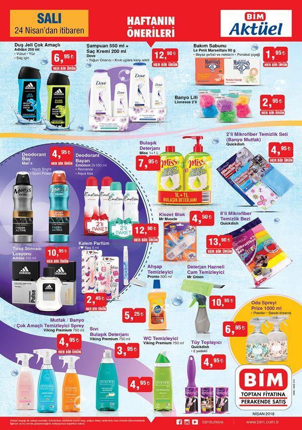 BİM 24 Nisan 2018 Fırsat Ürünleri Kataloğu