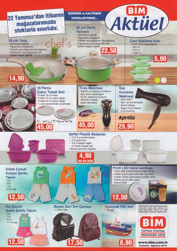 BİM Fırsat Ürünleri 22 Temmuz 2016 Katalogu - Tıraş Makinesi
