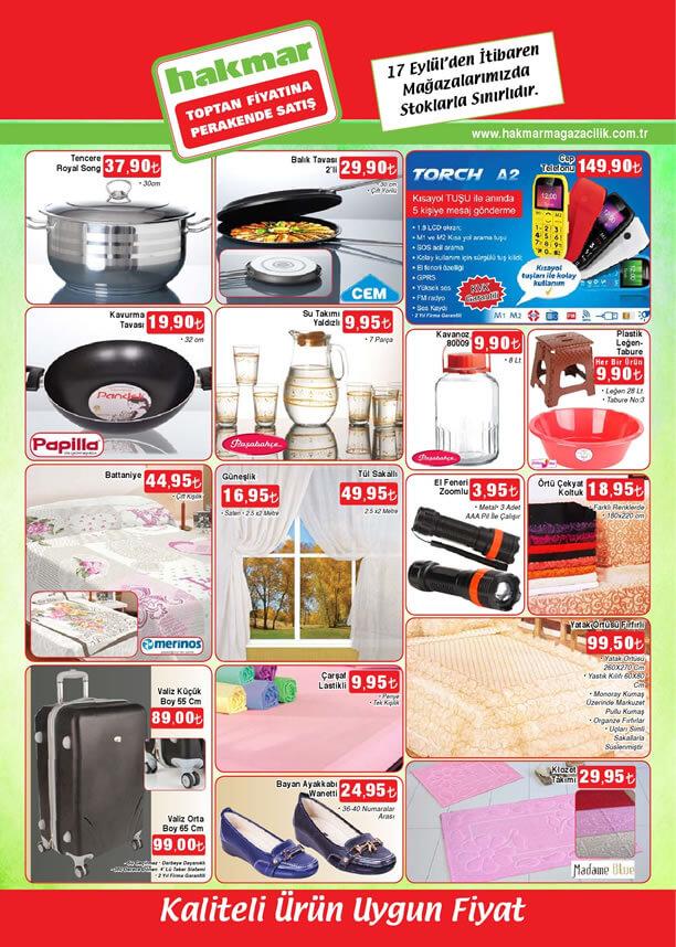 HAKMAR 17 Eylül 2015 Aktüel Ürünler Katalogu - Torch A2