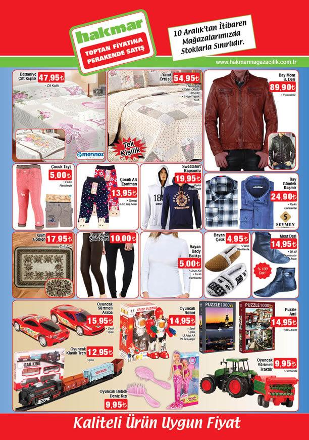 HAKMAR Fırsat Ürünleri 10 Aralık 2015 Broşürü - Suni Deri Mont