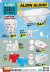A101 13 Haziran 2019 İndirimli Ürünler Listesi - Bebek Ürünleri