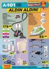 A101 19 Nisan 2018 Perşembe Kataloğu -  Elektrikli Süpürge