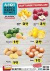 A101 20 - 26 Ekim 2018 Patates Soğan ve Meyve Fiyatları