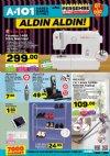 A101 22 - 28 Mart 2018 Kataloğu - Singer Dikiş Makinesi