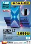 A101 27 Aralık 2018 Aktüel Ürünler Kataloğu - Honor 8X