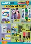 A101 7 Aralık 2017 Fırsatları Temizlik ve Makyaj Ürünleri