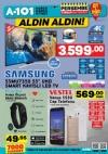 A101 7 Aralık 2017 Samsung Smart Kavisli Led Tv