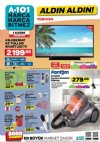 A101 Aktüel 1 Kasım 2018 Kataloğu - Toshiba Full HD Smart Led Tv