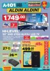 A101 Aktüel 12 Ekim 2017 HI-LEVEL UHD Uydu Alıcılı Led Tv