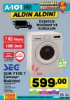 A101 Çamaşır Makinesi - 19 Ekim 2017 Kataloğu