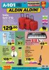 A101 İndirimleri 18 Ocak 2018 Katalogu - Elektrikli Dik Süpürge