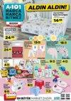 A101 Market 18 Ekim 2018 Kataloğu - Lisanslı Bebek Nevresim Seti
