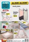 A101 Market 19 Temmuz 2018 Broşürü - Marie Claire Paris