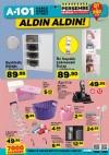 A101 Market 28 Aralık 2017 Katalogu - İki Kapaklı Çekmeceli Dolap