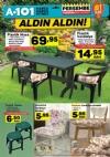 A101 1 Haziran 2017 Kampanyası - Plastik Masa Sandalye