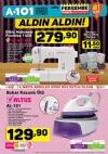 A101 11 Mayıs 2017 Katalogu - Altus Buhar Kazanlı Ütü