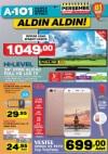 A101 23 Mart 2017 Katalogu - HI-LEVEL Uydu Alıcılı Full HD Led Tv