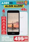 A101 23 Şubat 2017 Katalogu - Vestel Venus V3 Cep Telefonu