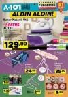 A101 30 Mart 2017 Fırsatları - Altus Buhar Kazanlı Ütü