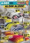 A101 Aktüel 23 Mart 2017 Katalogu - Taraftar Nevresim Seti