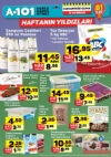 A101 Market Haftanın Yıldızları 8 Nisan 2017 Katalogu