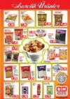BİM Market 16 Ekim 2015 Aşurelik Ürünler